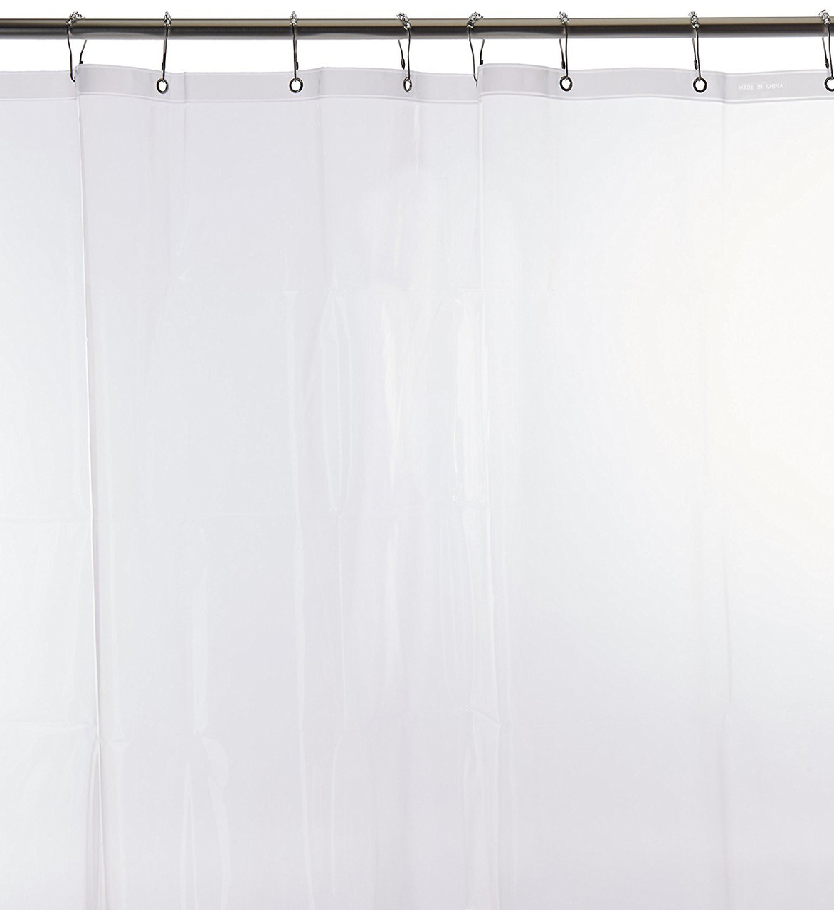 Carnation Home Fashions PEVA Shower Curtain Liners 72 Inch By