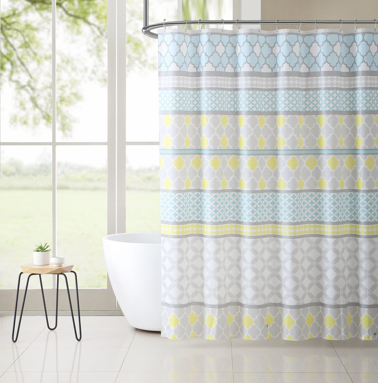 PEVA Shower Curtain Liner Odorless PVC And Chlorine Free