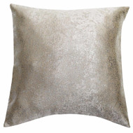 Bathroom and More Single (1) Euro/Square Size Pillow Sham with Metallic Accent 26in x 26in (Mouse)