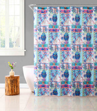 Fabric Shower Curtain for Bathroom Colorful Bohemian Design 72IN x72 IN