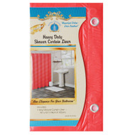 Bright Red Shower Curtain Liner