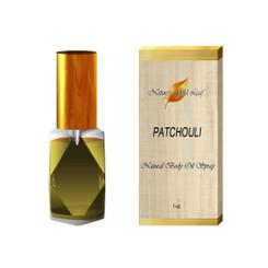 Patchouli Body Oil Spray Unisex 1 oz.