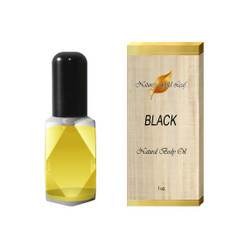 Black by Kenneth Cole Body Oil for Men 1 oz.