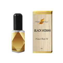 Black Woman Body Oil for Women