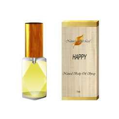 Happy by Clinique Body Oil Spray for Women 1 oz.