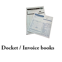 Invoice Books A4 - 10 books 3-part