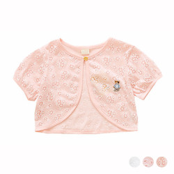 Lace Short Sleeve Cardigan
