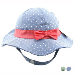 Printed Ribbon Hat