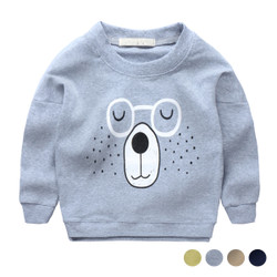 Cartoon Bear Specs Sweater