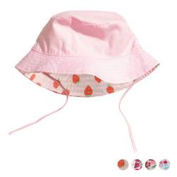 Reversible Floral Girls Hat