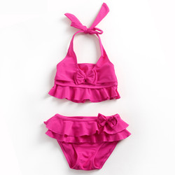 Two Piece Frill Bikini Swimsuit