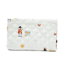 Portable Cartoon Pirates Diaper Mat