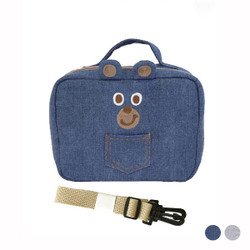 Versatile Strap Cartoon Bear Diaper Bag