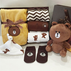 Brown Bear Gift Set