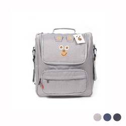 Multi Strap Cartoon Bear Mommy Backpack