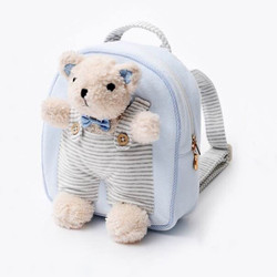 Attached Bear Kids Backpack