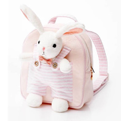 Attached Bunny Kids Backpack