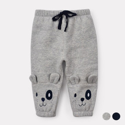 Cartoon Bear Ears Warm Sweat Pants