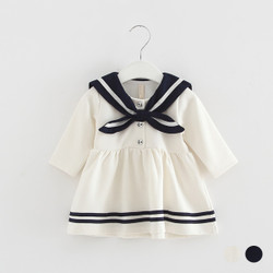 Sailorette Button Dress