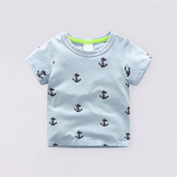 Casual Printed Anchor Shirt