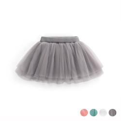 Layered Mesh Tulle Skirt