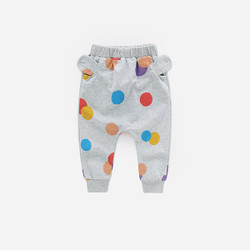 Dotted Color Sweat Pants