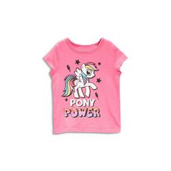 Casual Pony Short Sleeve Tee