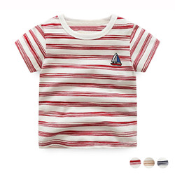 Sailboat Stripe Tee