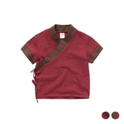 Kimono Wrap Cotton Shirt