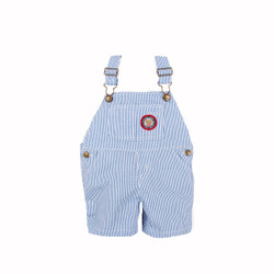 Stripes Denim Overalls