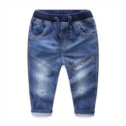 Drawstring Pocket Denim Jeans
