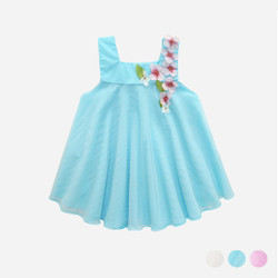 Pastel Floral Strap Dress