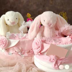 Baby Girl Bunny Gift Set