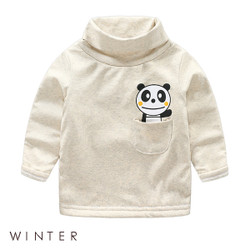 Winter Cartoon Panda Long Sleeve Shirt