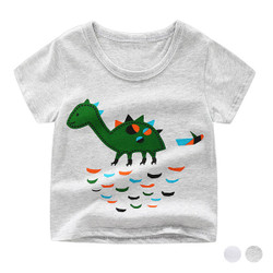 Casual Printed Dino Tee