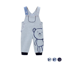 Warm Cartoon Bear Long Jumpsuit