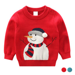 Cartoon Christmas Knit Sweater