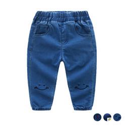 Elastic Band Soft Denim Jeans