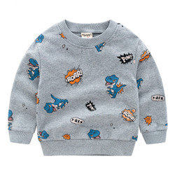 Printed Dino Roar Sweater