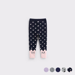 Cartoon Bunny Knit Warm Leggings