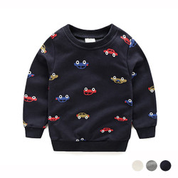 Printed Car Sweater