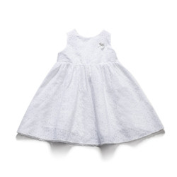 Eyelet Lined Dress