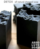 Detox All-Natural Charcoal Soap
