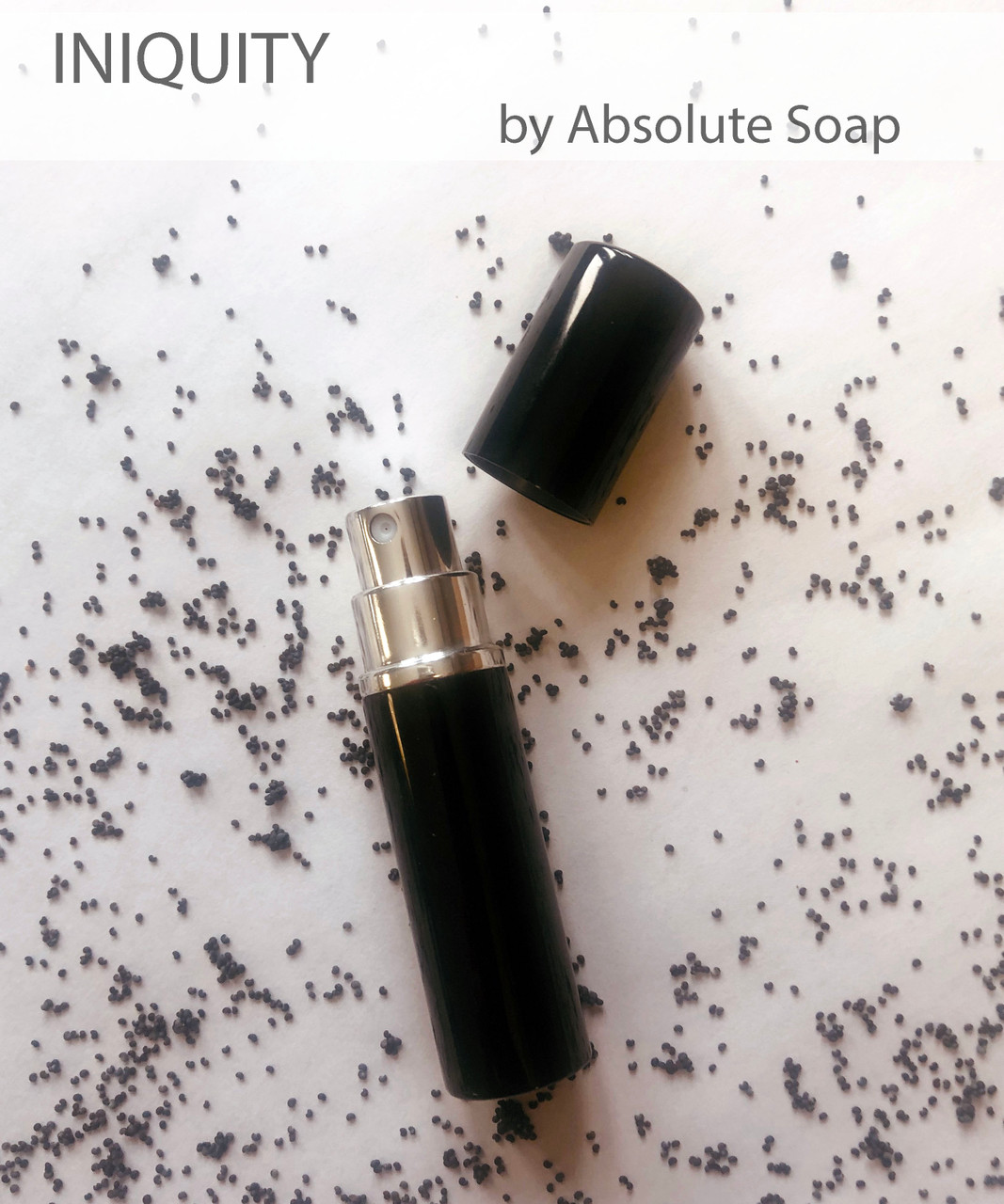 Iniquity Handcrafted Perfume | Absolute Soap
