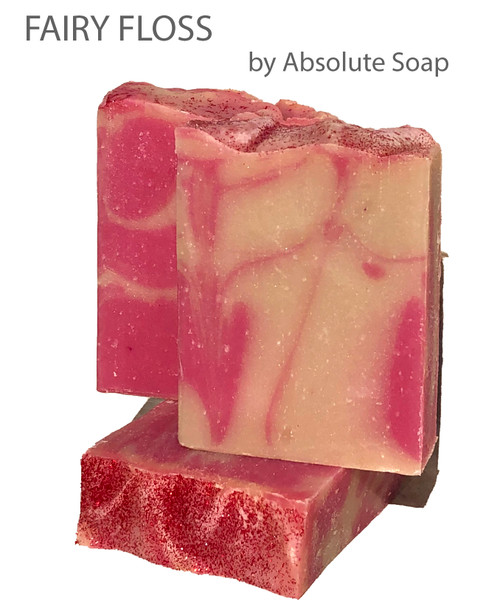 Fairy Floss Handcrafted Soap | Absolute Soap