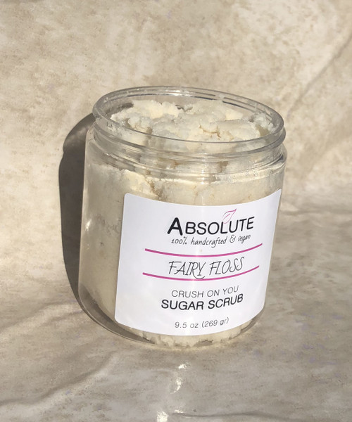 Fairy Floss Crush on You Sugar Scrub | Absolute Soap