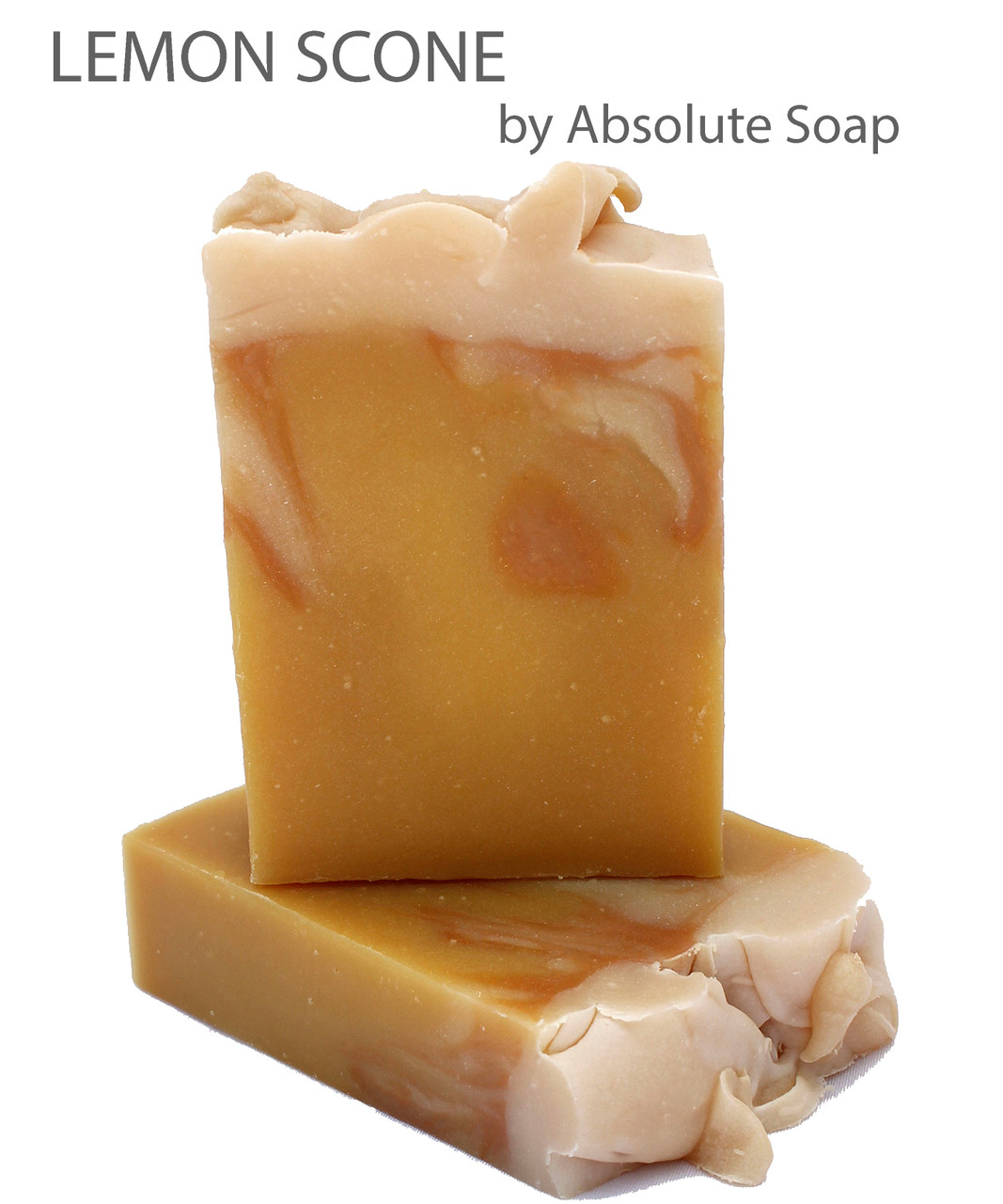 Lemon Scone Handcrafted Soap | Absolute Soap
