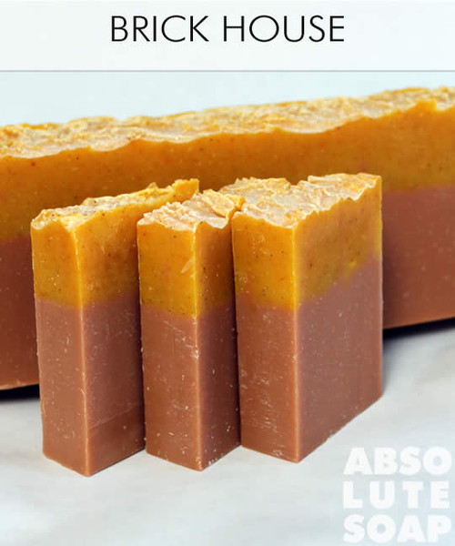 Brick House all natural soap by Absolute Soap