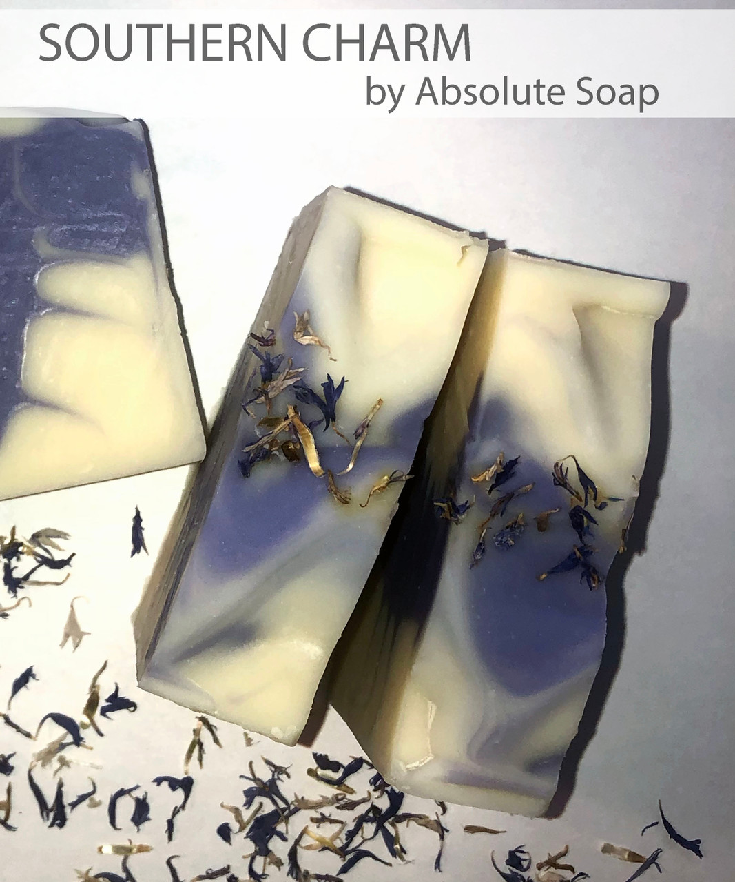 Southern Charm Lavender and Orange Handmade Soap