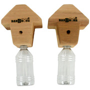 Hang or mount your cedar carpenter bee trap wherever there are carpenter / boring bees in large numbers.